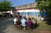 """""""Hotel pod mostem"""" :-) (Albánie, Palaj-Gushta, SH25)"""