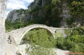 Řecko, starý most Gefiri Kokkorou