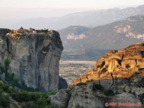 Řecko, Meteora, svítání