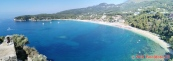 Řecko, Parga, pláž Valtos