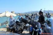 Albánie, přívoz u Butrint