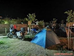 Albánie, SH8, kemp Vlora, Orikum