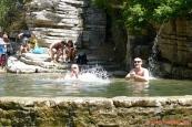 Řecko, Papingo, skalní jezírka