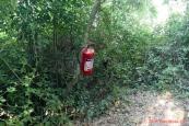 Albánie, Butrint - požární ochrana po albánsku :-)