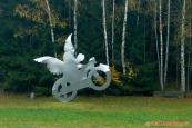 "motorkářský anděl (Motorrad Engel) ""Raphael"", Eibenstein"
