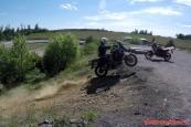 Adventure motoškola Brno (takto to vypadat nemělo :-) )