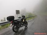 Annaberg, cestou domů mi počasí nepřálo...