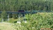 parní vlak - Fichtelbergbahn