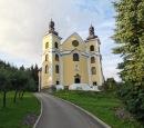 """""""prosklený"""" kostel Nanebevzetí Panny Marie, Neratov"""