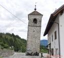 šikmá věž v Prato Carnico