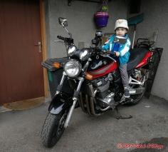 malý motorkář :-)