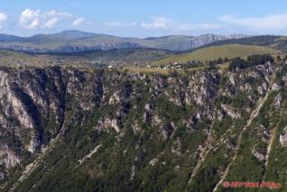 kaňon Sušice - Mala Crna Gora