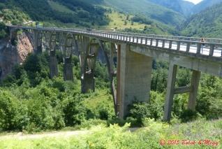 most přes kaňon Tary