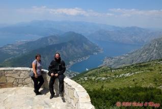 vyhlídka na Boku Kotorskou