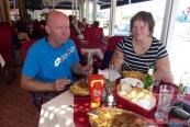 oběd u bosenských hranic