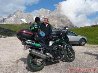 nerozlučná dvojka na Passo di Rolle