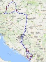 mapa celá trasa