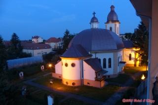 Satu Mare - výhled z pokoje