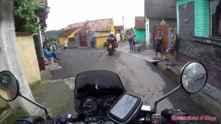 Racoş - průjezd vesnicí :-)