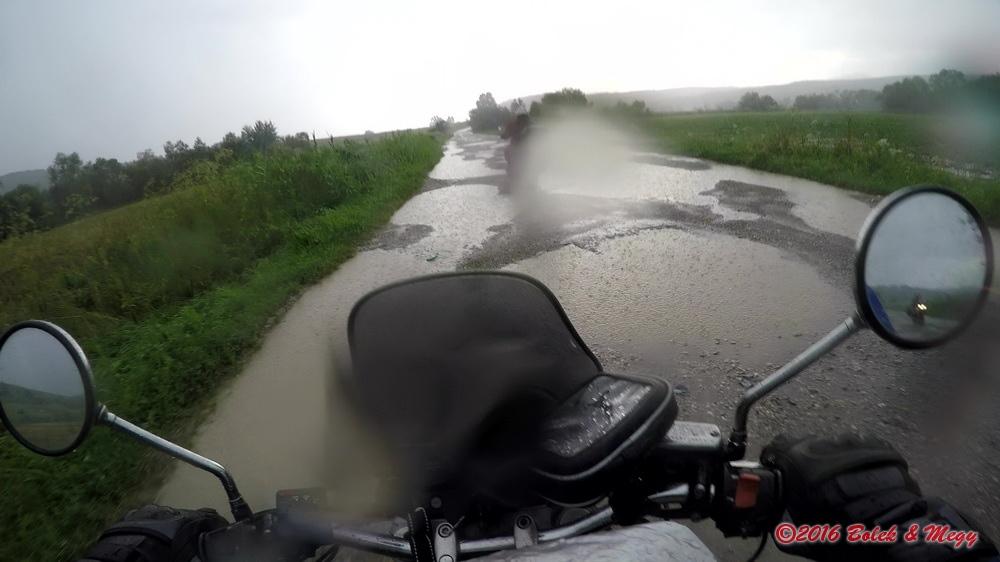 offroad v bouřce :-)