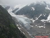 Sustenpass - ledovec Steingletscher